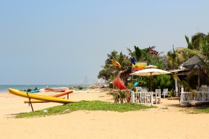 Beach at Mount Lavinia